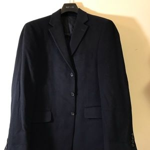 Mens J.Crew Suit Coat Blazer Size 40R